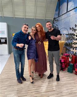 Η Σίσσυ Χρηστίδου μαζί με τον Παύλο Σταματόπουλο, τον Κωνσταντίνο Βασάλο και την Ελένη Βουλγαράκη έρχονται να βάλουν χρώμα στα πρωινά του Σαββατοκύριακου και να γίνουν η αγαπημένη μας συντροφιά,